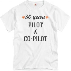 30th anniversary pilot & co-pilot