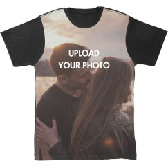 Custom Photo All Over Print Tee