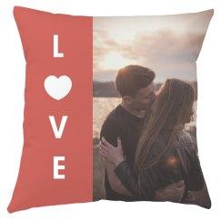 Custom Photo Couple's Love Gift