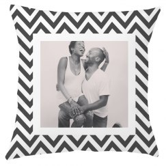 Custom Upload Chevron Home Decor