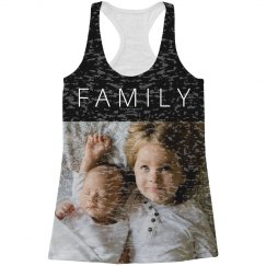 Custom All Over Print Family Photo