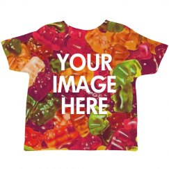 Custom Image Upload Toddler Shirts