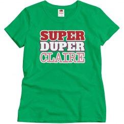 Super Duper Claire