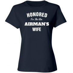 Honored to be airman's wife
