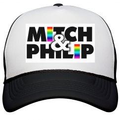 KQ Black & White Logo Cap