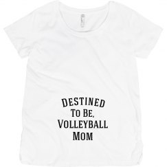 Destined to be volleyball mom