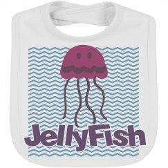 Jellyfish infant summer bib