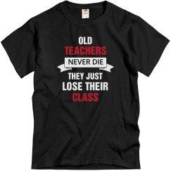 Old teachers never die