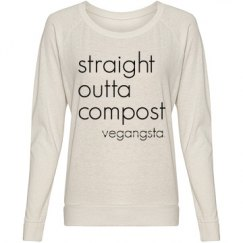 straight outta... slouchy top