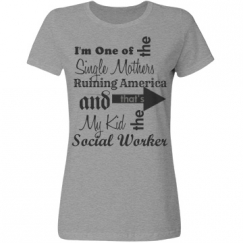 Single Mother of Social Worker