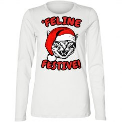 Festive Cat Top