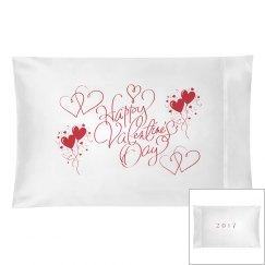Valentine's Pillowcase