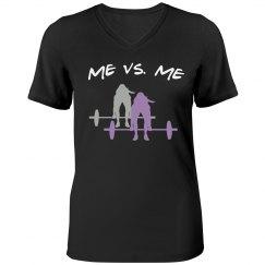 Me vs. Me -black tee