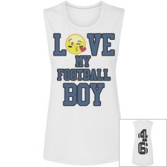 Football emoji blue