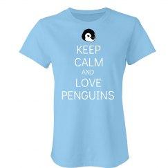 Keep Calm Penguin Love