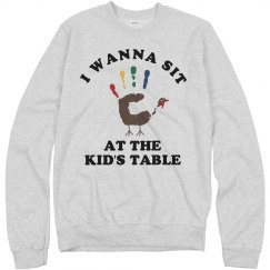 Sit At The Kid's Tables