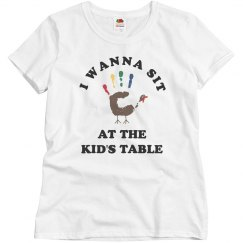 Thanksgiving Humor Kids Table