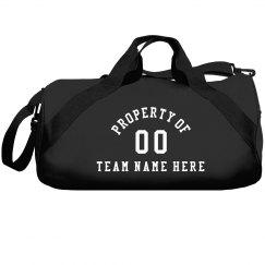 Custom Property Of Team Bag