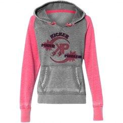 KP Pink Vintage Hoodie