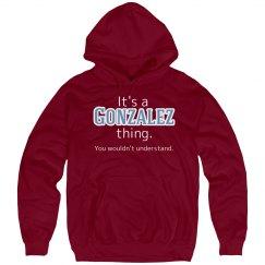 Its a Gonzalez thing