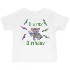 Cute Birthday Bat