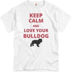 Keep calm bulldog