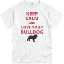 Keep calm bulldog