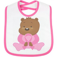 Breast Cancer Ribbon Bear
