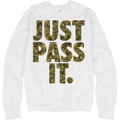 just pass it