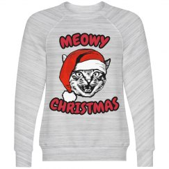 Meowy Christmas Kitten