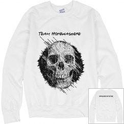skull sweat shirt | hopewashere
