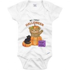 First Halloween Boo Bear