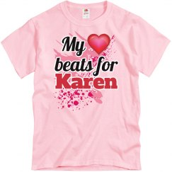 My heart beats for Karen