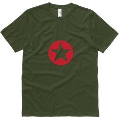 Red Star Military Tee