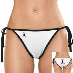GB Logo Purple Bikini Bottom