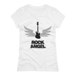 Rock Angel Back Design