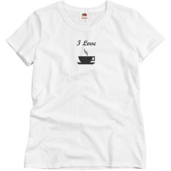 i love coffee/tea