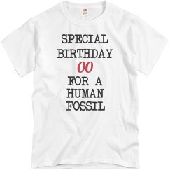 Human fossil birthday
