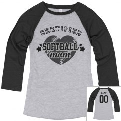 Certified softball mom