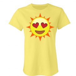 Love Sun Emoji T-Shirt