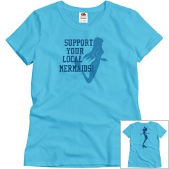 Support mermaids T shirt