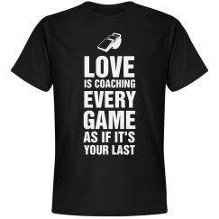 Love is coaching