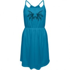 Cool Dragon wings sun dress