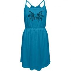 Cool Dragon wings sun dress