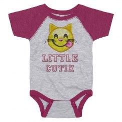 Emoji Little Cutie Baby Tee
