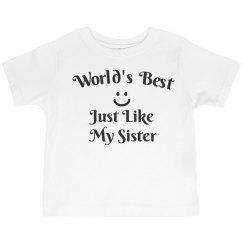 World's best like sister
