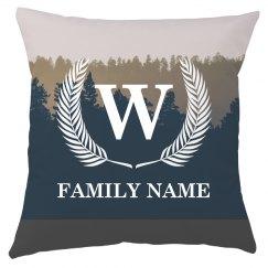 Custom Monogram Family Name
