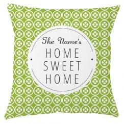 Custom Name Printed Home Decor