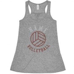 Rhinestone Custom Volleyball