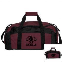 Isabella. Baseball bag